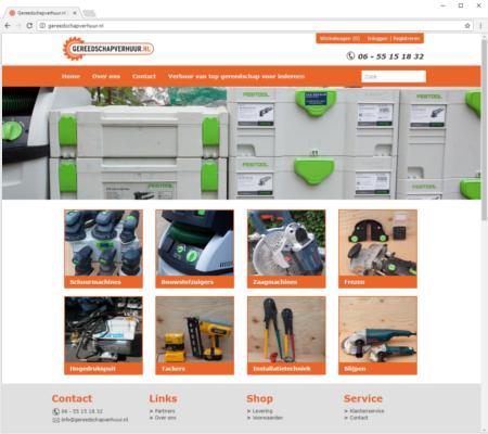 Screenshot ictrent.nl