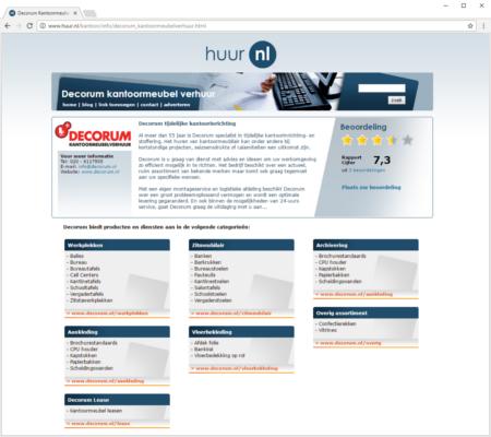 Screenshot Huur.nl
