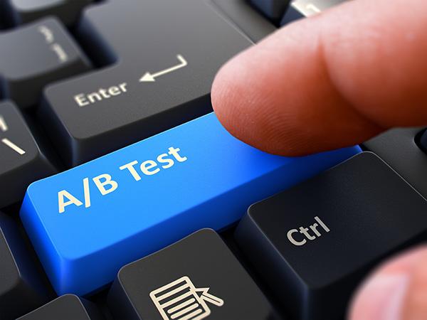A/B test verhuur