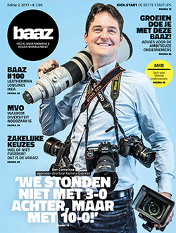 Cover Baaz magazine