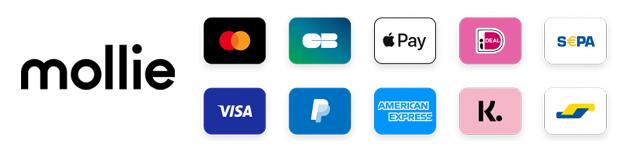 Betaalmogelijkheden op je webshop via Mollie