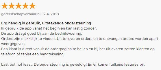 Referentie Rentpro iOS app