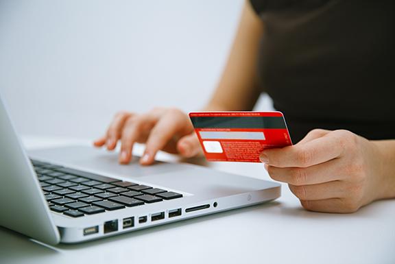 Online betalen bij een verhuur webshop